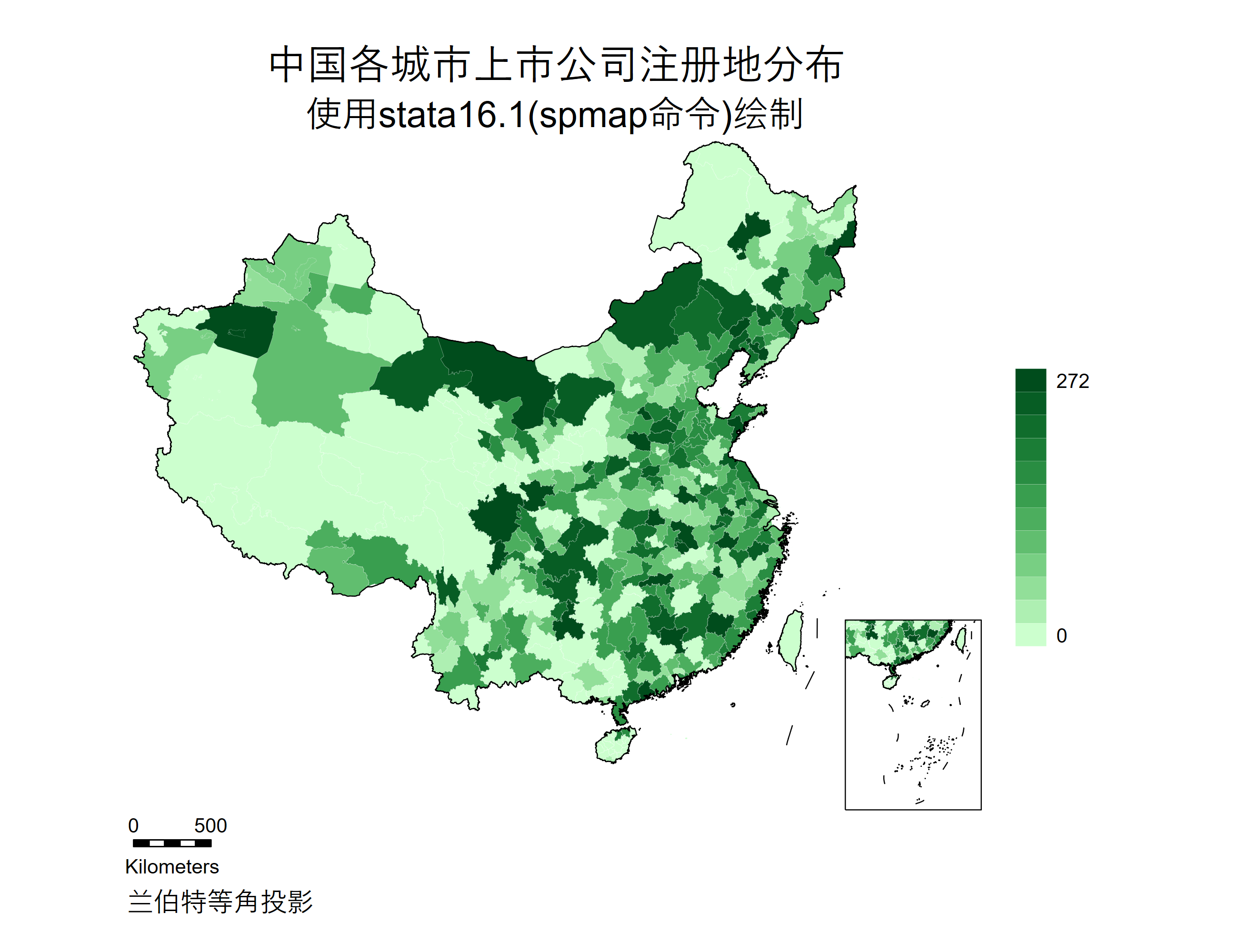 中国各城市上市公司注册地分布.png